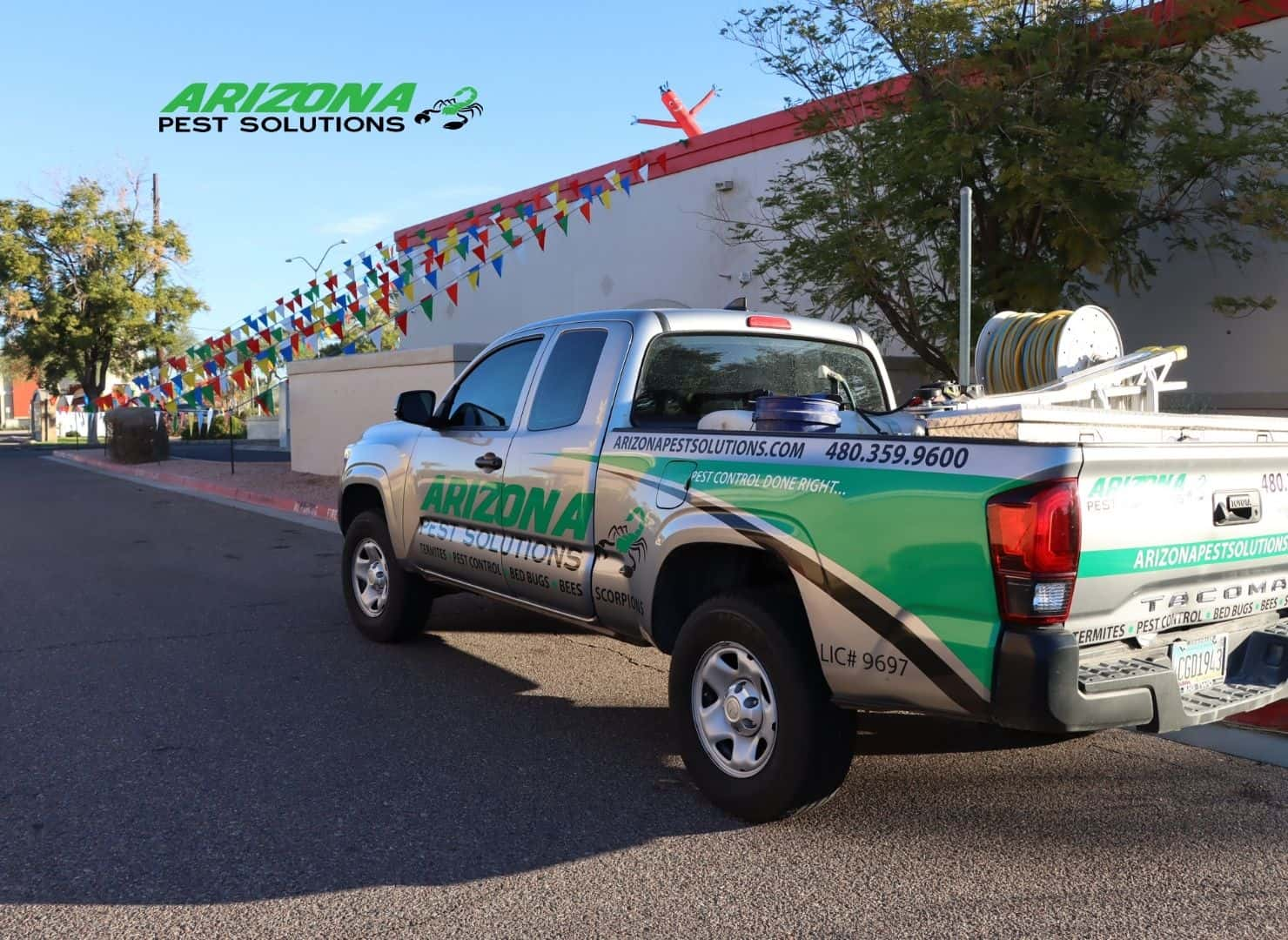commercial pest control services - arizona pest solutions gilbert az